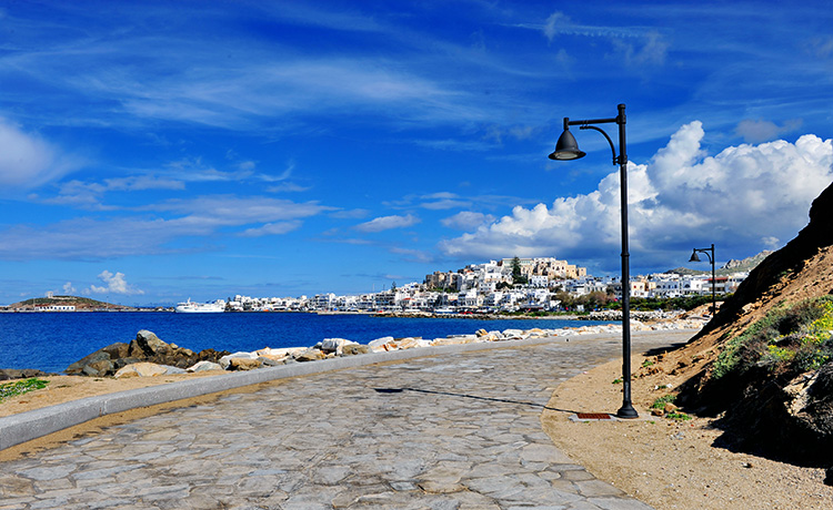Spectacular experiences in Naxos  Town