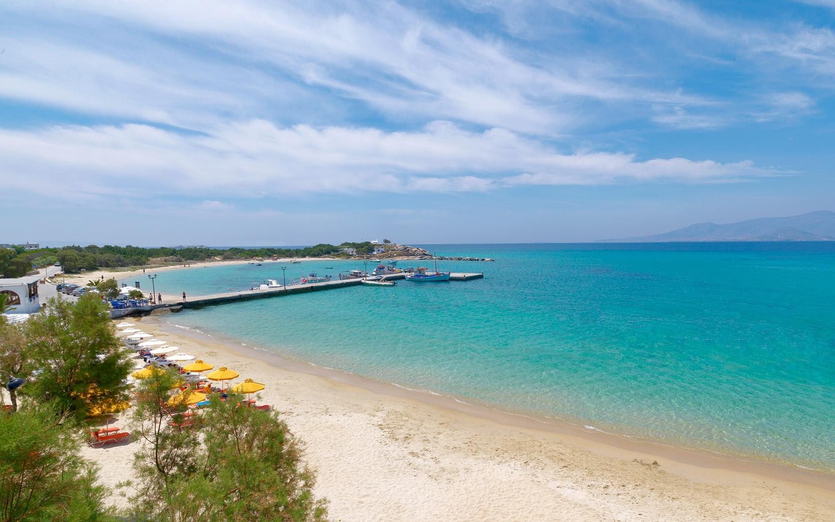 Naxos Map Greece Naxos Beaches